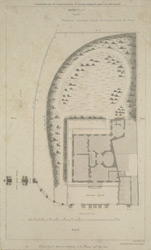 [Plan of Apsley House and Ground, Hyde Park Corner :showing the addition granted to the Duke of Wellington by the Crown]